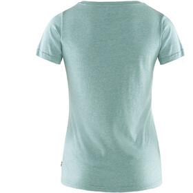 Fjällräven 1960 Logo T-Shirt Femme, clay blue/melange